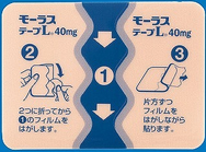 プラスター剤(テープタイプ)