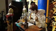 六甲オルゴーミュージアムの人型オルゴール