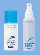 ビーソフテンローションとヘパリン類似物質外用スプレー