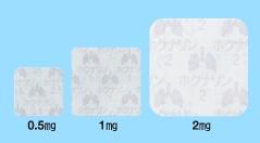ホクナリンテープの大きさ3種類