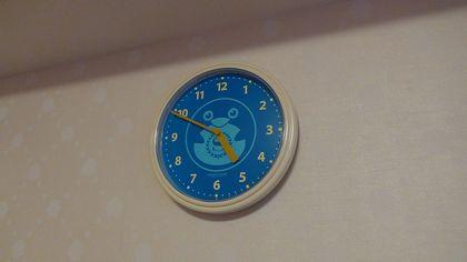 トレジャーズルームの時計