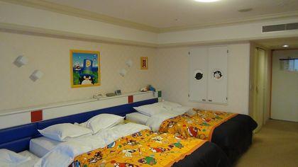 トレジャーズルームのベッド