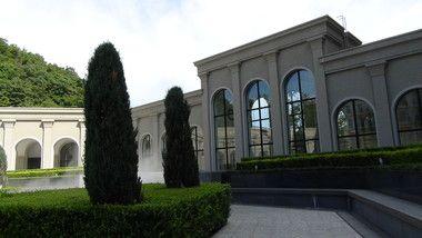 エクシブ有馬離宮のロビー側の建物