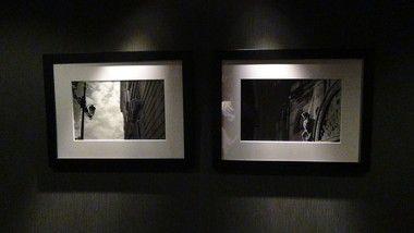 エクシブ有馬離宮の廊下壁写真