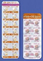 イリボー2.5μg錠剤、2.5μgOD錠