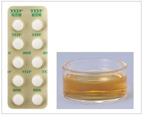 フスコデ配合錠とフスコデ配合シロップ