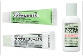 アクアチム軟膏/クリーム/ローション