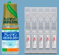 防腐剤フリー抗アレルギー点眼薬(アレジオン、インタールUD)
