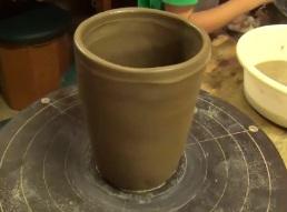 エクシブ白浜アネックスで作った陶芸作品(ビール用)